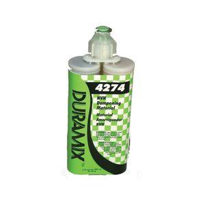 3M 4274 4274 NVH Dampening Material, 200 mL Cartridge, Liquid, Black/Clear, 60 min Application