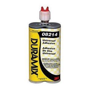 3M 8214 08214 Universal Adhesive, 200 mL Dual Syringe Cartridge, Black/Pale to Dark Amber