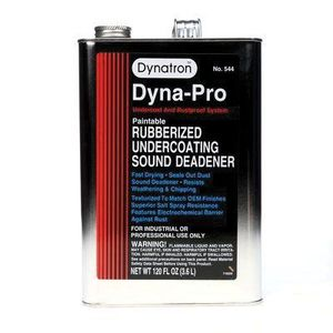 Dynatron™ 544 544 Rubberized Undercoating, 1 gal, Black, Liquid, Rubberized (Y/N): Yes