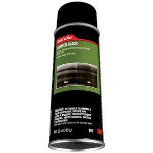 Bondo™ 00802 00802 1-Component Bumper Body Filler, 12 oz Aerosol Can, Black