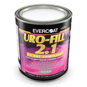 EVERCOAT® 102210 102210 Acrylic Urethane Primer Surfacer, 1 gal Can, Gray, 4:1 Mixing