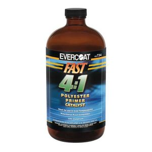 EVERCOAT® 100734 100734 Polyester Primer Fast Catalyst, 946 mL Bottle, Clear, 4:1 Mixing, Liquid