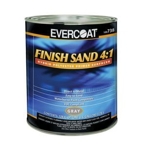 EVERCOAT® 100738 100738 Finish Sand, 1 gal Round Can, Gray, 4:1 Mixing, Use: DTM