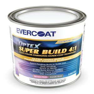 EVERCOAT® 740 100740 Polyester Primer Surfacer, 3.78 L Can, Gray, 4:1 Mixing
