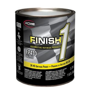 Sherwin-Williams Paint Company FP41016 FP410-1 High Build 2K HS Urethane Primer, 1 gal Can, Gray, 4:1 Mixing