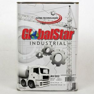 GlobalStar AV.002G AV.002(G) Hardener, 1 gal Can, Clear, Liquid, Use With: L2, L4, and L6 Series Top Coat Binders