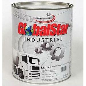 GlobalStar L71K1RAL9005G L71K1RAL9005G High Gloss UHS Polyurethane Binder, 1 gal Can, Jet Black