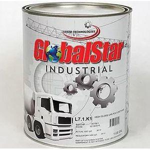 GlobalStar L71K1RAL90053/4G L71K1RAL90053/4G UHS Polyurethane Topcoat, 0.75 gal Can, Black, 369.1 sq-ft/gal Coverage