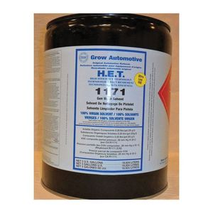 Grow Automotive 1171-05 1171-5 Low VOC Gunwash Solvent, 5 gal, Waterbourne (Y/N): No