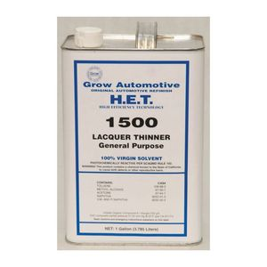Grow Automotive 1500-01 1500-01 Lacquer Thinner, 1 gal