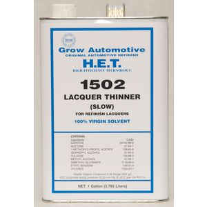 Grow Automotive 1502-01 LACQUER THINNER SLOW