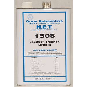 Grow Automotive 1508-01 LACQUER THINNER MEDIUM