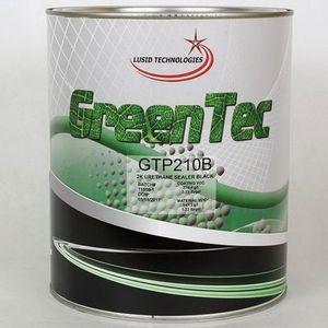 GreenTec GTP210B(G) GTP210B(G) High Build 2K Urethane Sealer, 1 gal Can, Black, 279.4 g/L VOC, 4:1 Mixing