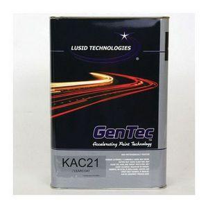 GenTec KAC21(G) KAC21G Premium 2.1 VOC Automotive Clearcoat, 1 gal Can, Gloss, 4:1 Mixing
