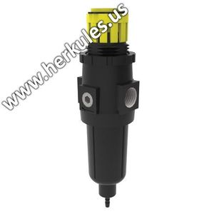 herkules™ 11345 11345 Filter Regulator, 1/4 in NPT Connection, 75 psi Setting, Use With: GW/R-T Paint Gun Washer