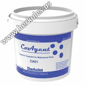 herkules™ CA01 CA01 Superior Coagulant, 4.4 lb Pail, Light Tan to Gray, Granular Solid