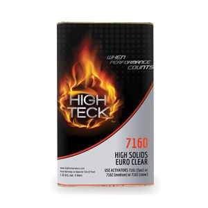 High Teck Products 7160-1 High Solids Euro Clear