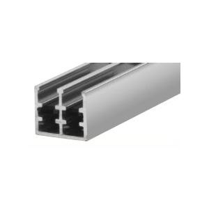 CRL 16780 Polished Aluminum Finish Rollertrack Bottom Track