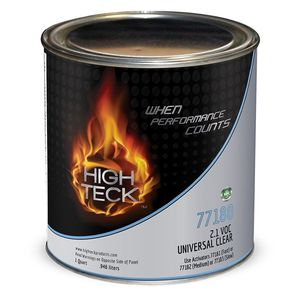 High Teck Products HT-77180-4 2.1 VOC Universal Clear