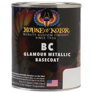 House of Kolor BC05.Q01 BC05-Q01 Glamour Metallics Series Universal Basecoat, 1 qt Can, Lapis Blue