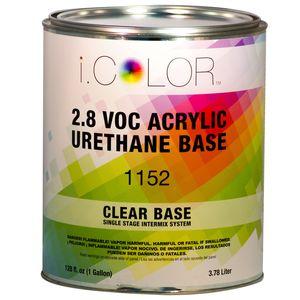 iColor ICO.1152.G01 Clear Base - A/U Single Stage Intermix Sys (112 oz.)