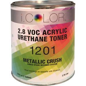 iColor ICO.1201.G01 Metallic Crush Aluminum Single Stage Toner