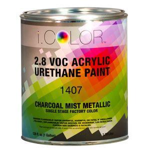 iColor ICO.1407-1 Charcoal Mist Metallic Single Stage FPC - 2.8 VOC