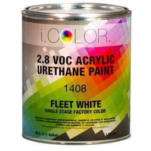 iColor ICO.1408.G01 Fleet White Single Stage FPC - 2.8 VOC