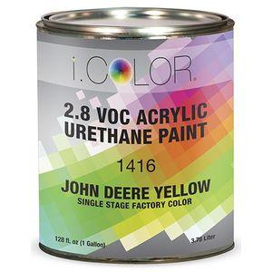 iColor ICO.1416.G01 John Deere Yellow Single Stage FPC - 2.8 VOC