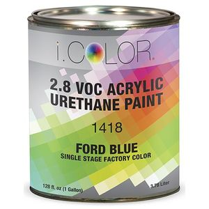 iColor ICO.1418-1 Ford Blue Single Stage FPC - 2.8 VOC