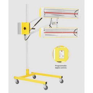 INFRATECH 16-1020 16-1020 Portable High-Intensity Medium Wave Curing System, 4000 W, Quartz