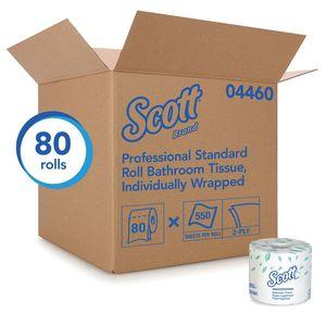 Scott™ 4460 04460 Standard Essential Toilet Paper Roll, 4.1 x 4 in, 2 Plys