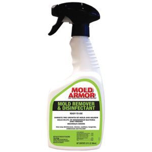 Mold Armor FG552 FG552 Mold Remover and Disinfectant, 32 oz Bottle, Clear, Liquid