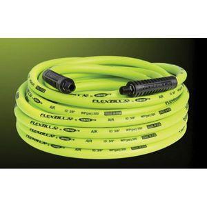 Flexzilla® HFZ12100YW3 HFZ12100YW3 Lightweight Air Hose, 1/2 in, 100 ft, Green
