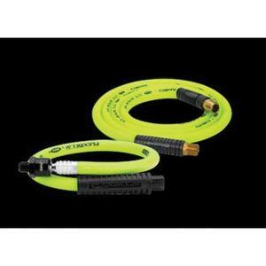 Flexzilla® LEGHFZ3804YW2B HFZ3804YW2B Lightweight Whip Air Hose, 3/8 in, 4 ft, Green
