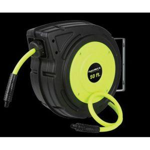 Flexzilla® LEGL8250FZ L8250FZ Retractable Air Hose Reel, 3/8 in, 50 ft