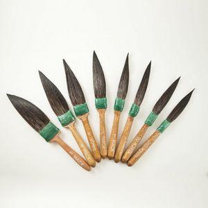 ANDREW MARK #20-ASST#5 #20-ASST#5 20 Series Squirrel Hair Sword Striper Touch-Up Brush Set, #00, #0, #1, #2, #3, #4 Brush