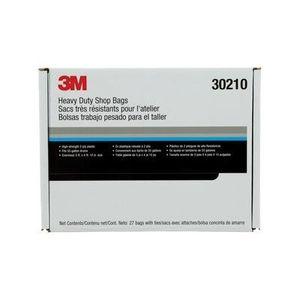 Marson® 30210 30210 Shop Bag, 3 x 4 ft 10 in, Black