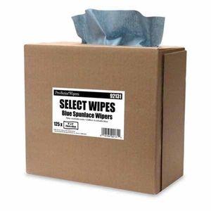 MDI 92131 92131 Optimum Performance Supreme Towel, 125, 17 in L x 9 in W, Spunlace, Blue