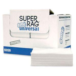 MDI 93139 93139 Fold Prep Towel, 13 x 16 in, 300, Creped Spunlace, White, Fold