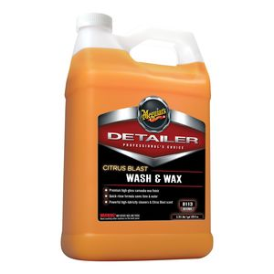 Meguiar's D11301 D11301 Wash and Wax, 1 gal Can, Liquid