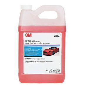 3M 38377 38377 Car Wash Soap, 1 gal Bottle, Orange, Liquid