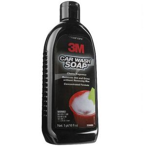3M 39000 39000 Auto Care Car Wash Soap, 16 fl-oz Bottle, Orange/Red, Liquid
