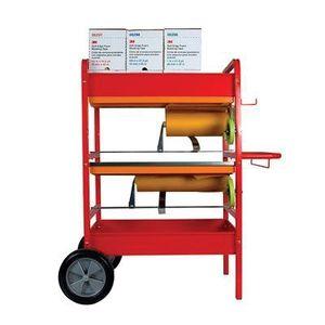 Scotch® 06781 06781 Cart Masker, 40-1/2 in L x 19-1/2 in W x 44-1/4 in H, Red