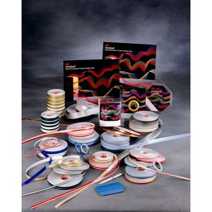 3M 72266 3M Scotchcal Striping Tape 72266, Dark Red, 1/4 in x 150 ft