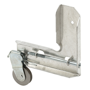 "Stamped Aluminum Corner Insert With 1"" Stainless Steel Ball-Bearing Center Groove Sliding Screen Door Roller for Jim Walters"