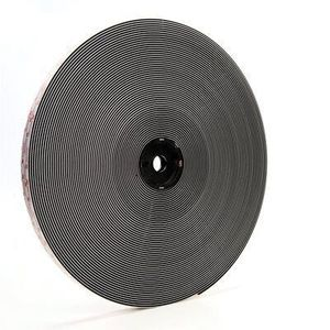 Dual Lock™ 86278 86278 Reclosable Fastener Tape Roll, Polyolefin Liner, 50 yd x 1 in, Black/Clear