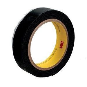 3M 86286 86286 SJ3572 Series Hook Fastener, 50 yd L x 1 in W, Nylon, Polyolefin Liner, Black