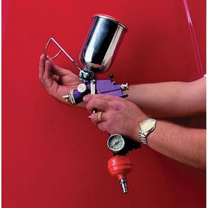 MOTOR GUARD GF-1 GF-1 Spray Gun Support, Use With: Gravity Feed Spray Gun