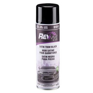 RSG™ 66623391013 91013 Trim Paint, 10.9 oz Aerosol Can, Satin Black, 20 to 30 min Curing